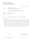 prikaz prve stranice dokumenta Analiza sigurnosti cestovnog prometa na području Grada Ploča