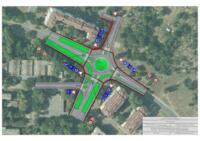 Idejno prometno rješenje raskrižja ulice Vile Velebita i ulica Mate Lovraka u gradu Zagrebu